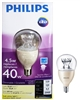 PHILIPS LED Dimmable 4.5W A15 Bulb