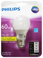 Philips LED Dimmable 9.5W A19 Bulb