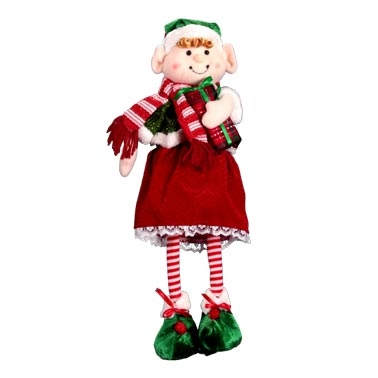 christmas elf free standing 20 tall