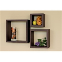 home trends Wall Cube Set - 3pcs
